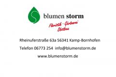 Blumen-Storm