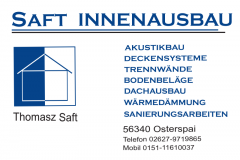 Saft-Innenausbau